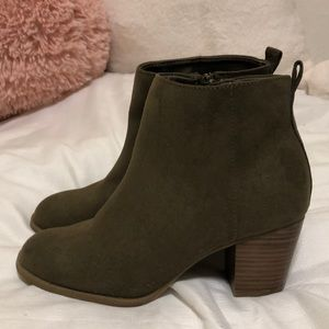 Old Navy Olive Green Boots